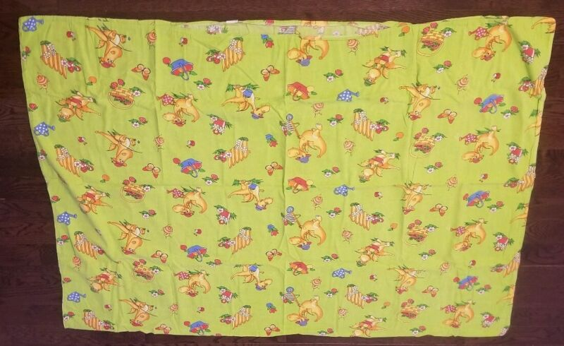 Toddler green duvet cover size 110 - 147sm