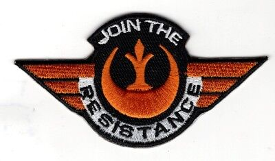 Star Wars Join The Resistance Wing Patch 3 1 2  Inch Patch