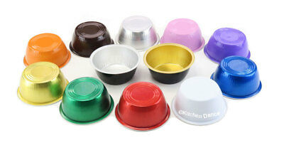 4 oz. Disposable Colored Ramekins-Creme Brulee-Dessert Cups- PACK OF 100- #A50 (Creme Brule Dessert)
