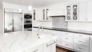 Give your kitchen a new look with a QUARTZ Counter top