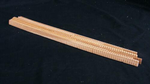"""Khaya Kerfing 144"""" of mixed lengths, Kerfed Kerf Ribbon Lining Guitar Ukulele"""