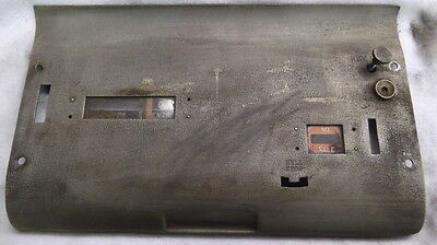 DUST COVER FROM A MODEL 130 NATIONAL CASH REGISTER. ALL ORIGINAL