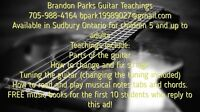 Brandon Parks Guitar and Music Lessons!!