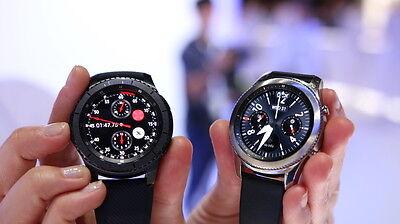 Die Gear S3 Classic – kaum von einer normalen Uhr zu unterscheiden