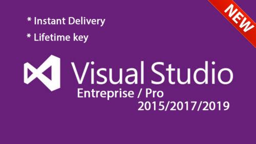 Visual Studio Enterprise/Pro 2019/2017/2015 - Unlimited PC
