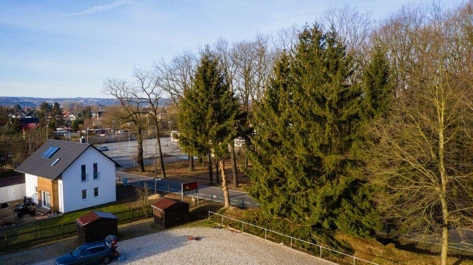 Luftbildaufnahmen von Haus,Grundstück, Baustelle, Gewerbeanlage in Struppen