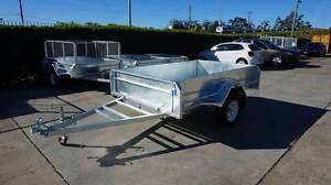 450mm HighSides 8X5 HotDippedGal Tilt Trailer Cage Available Coopers Plains Brisbane South West Preview