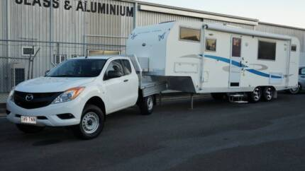 2010 Southern Cross Expedition 7800 5th Wheeler & 2013 Mazda BT50