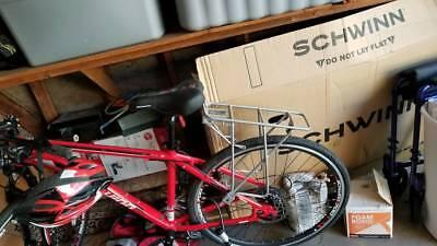 57cfcfc2f5f Schwinn 700C Unisex GTX 2 Cross-Commuter Bike Bicycle - Red California