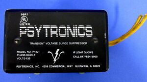 PSYTRONICS-TRANSIENT-VOLTAGE-SURGE-SUPPRESSOR-P1301