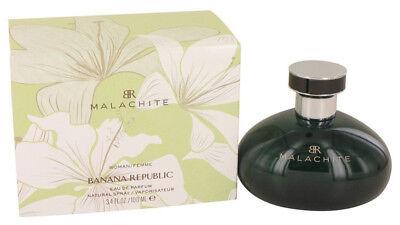 Malachite by Banana Republic for women Perfume edp 3.4 oz 3.3 New in Box Banana Republic Women Perfume