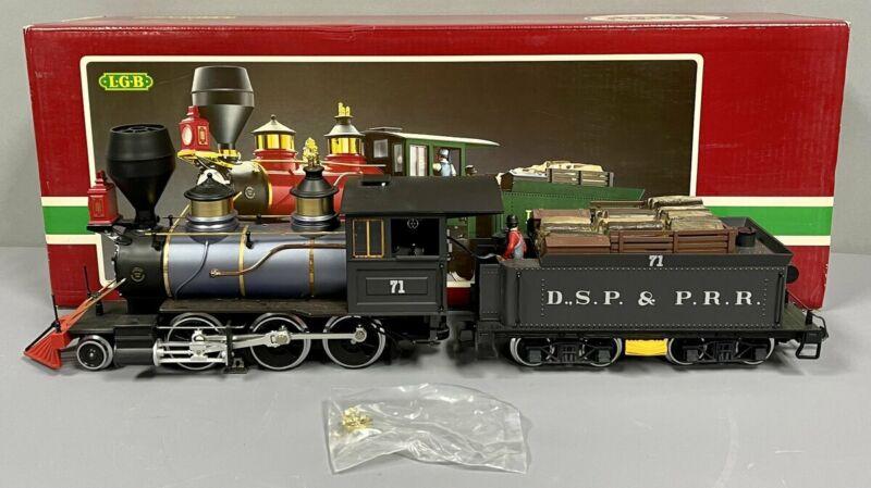 LGB 2028D DSP&P 2-6-0 Mogul Steam Locomotive & Tender EX
