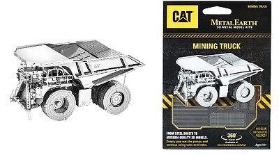 Mining Truck CAT 3D-Metall-Bausatz Silver-Edition Metal Earth 1424