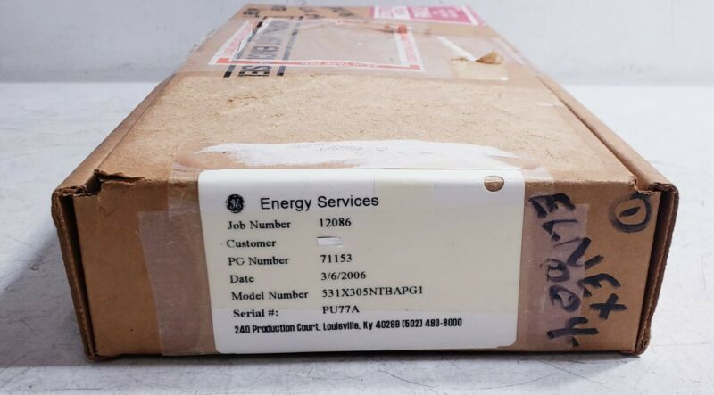 GE / General Electric 531X305NTBAPG1 PCB Circuit Board (PS#2)