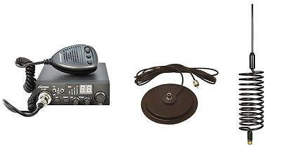 """CB Radio & Antenna Kit - Luiton CB Radio + Black Tornado CB Antenna + 7"""" Mag Mou"""