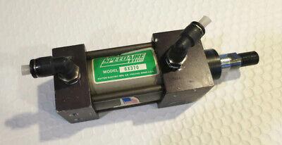 Speedaire 6x370 Pneumatic Air Cylinder 12 Stroke Wthreaded Shaft