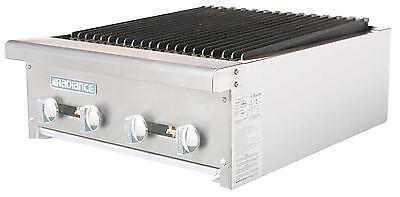 Radiance Tarb-24 24 Counter Top Radiant Gas Commercial Broiler 60000 Btu