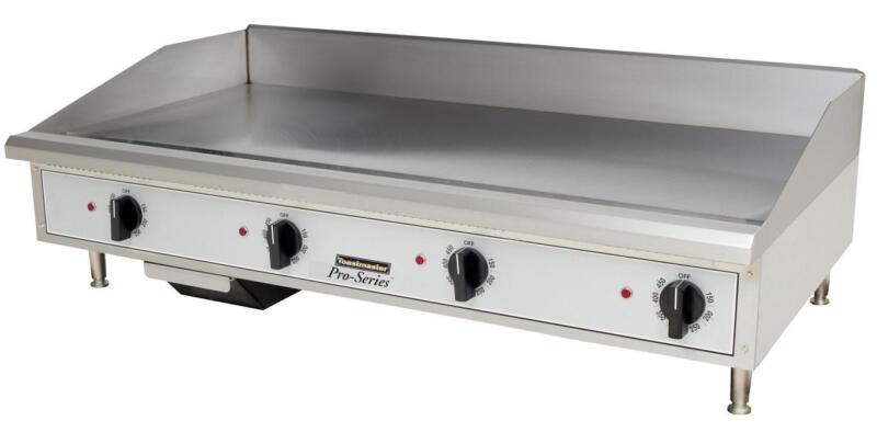 """Toastmaster Tmge48 Countertop 48"""" Thermostatic Control Electric Griddle"""