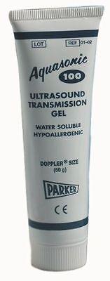60grams Aquasonic 100 Water Soluble Hypoallergenic Ultrasound Gel
