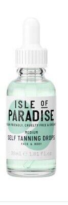 ISLE OF PARADISE SELF TANNING DROPS SHADE MEDIUM 30ML