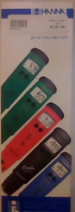 Hanna waterproof pH / Temperature Tester (brand new in box)