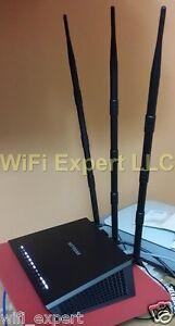 3 12dBi 2.4GHz 5GHz Dual Band RP-SMA WiFi Antenna FOR Netgear R7000 Nighthawk AC