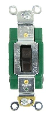 Newcooperarrowhart 3032b Quiet 2 Pole 30a 120v Industrial Toggle Switch Brown