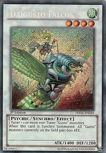 YU-GI-OH-DAIGUSTO-FALCOS-SECRET-RARE-HA06-EN049-1st-EDITION