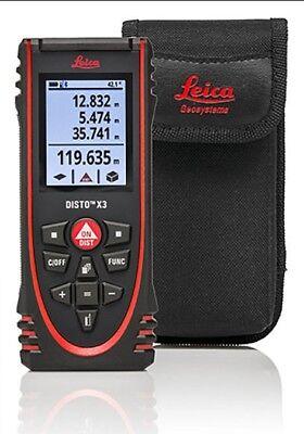 Leica Disto X3 Laser Distance Measurer Meter Rangefinder Ip 65 150m