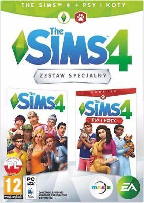 THE SIMS 4 + DODATEK PSY I KOTY PC DVD PL POLSKI POLSKA WERSJA POLISH NOWA na sprzedaż  Kikól