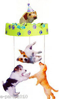PUPPY PARTY HANGING CENTERPIECE ~ Birthday Supplies Decorations Jack Russell - Puppy Birthday Decorations