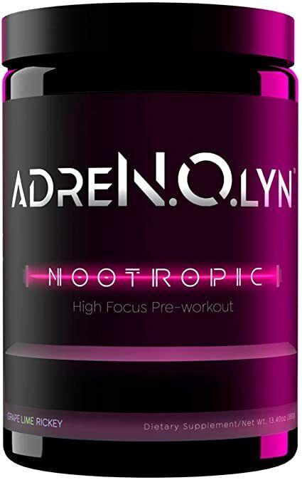 Blackmarket Labs ADRENOLYN NOOTROPIC Focus Pre-Workout Powder 25SRV Pick Flavor