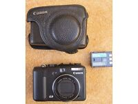 Canon G9 camera and leather case