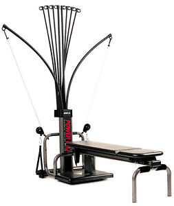 BowFleX Power PrO gym weights exercise