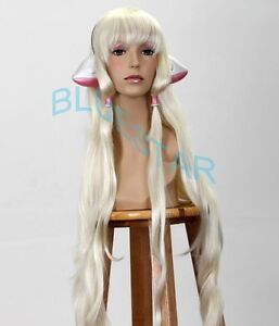 Deluxe Chobits Chii Ears + Hair Beads *MADE OF PLASTIC*