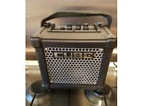 Roland micro cube guitar amp amplifier used once