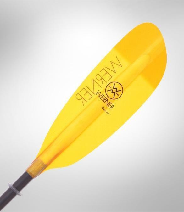 Werner Camano Bent Shaft Low Angle 2Pc Kayak Paddle