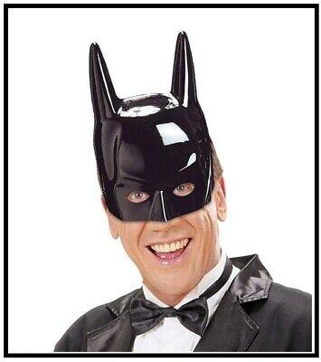 Maschera batman nero in plastica adulto WIDMANN , ART. 2632N