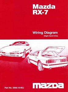rx7 fc in new south wales gumtree local classifieds mazda rx 7 fc 10 1985 factory wiring diagram manual supplement
