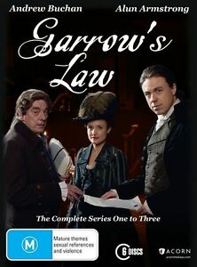 Garrow's Law : Series 1-3 (DVD, 2015, 6-Disc Set) New & Sealed