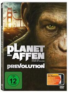 Planet der Affen-Prevolution DVD NEU Franco,Pinto,Lithgow,Cox,Felton,Wyatt TOP