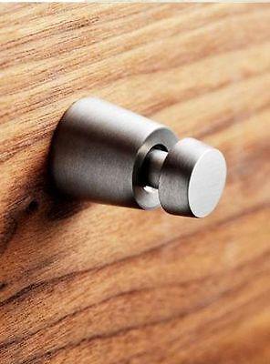 saniscan INOX Design Handtuchhaken | Wandhaken | Massiv Edelstahl gebürstet TOP