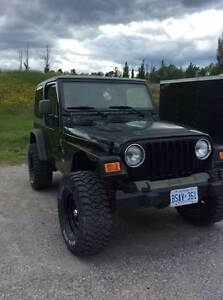 2003 Jeep TJ Sahara Other