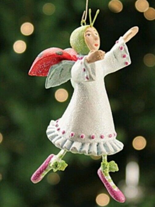 NEW Patience Brewster Eleven Ladies Dancing MINI Ornament 12 Days of Christmas