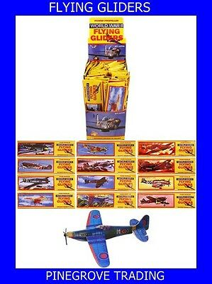48 FLYING GLIDERS- party bag fillers- prizes- toys