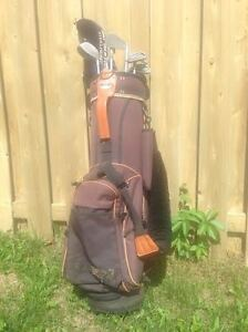 LH King Cobra II Oversize Irons, 3 Wood, Putter and golf bag