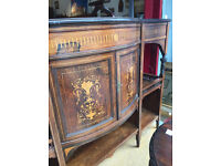 Large Chiffonier - Good quality and condition. Made by Paterson and Innes Edinburgh Cabinet Makers