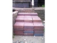 BRICKS - Heat resistant bricks for building an oven or barbecue (approx. 70) - FREE!