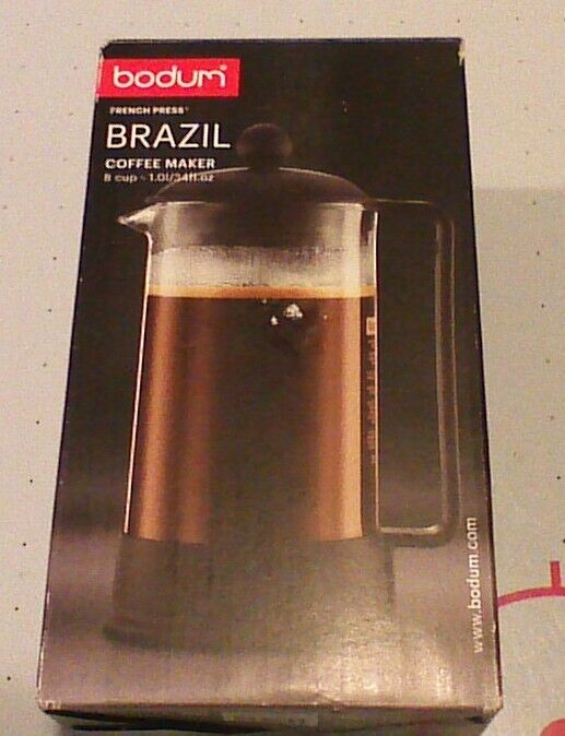 brazil french press coffee and tea maker