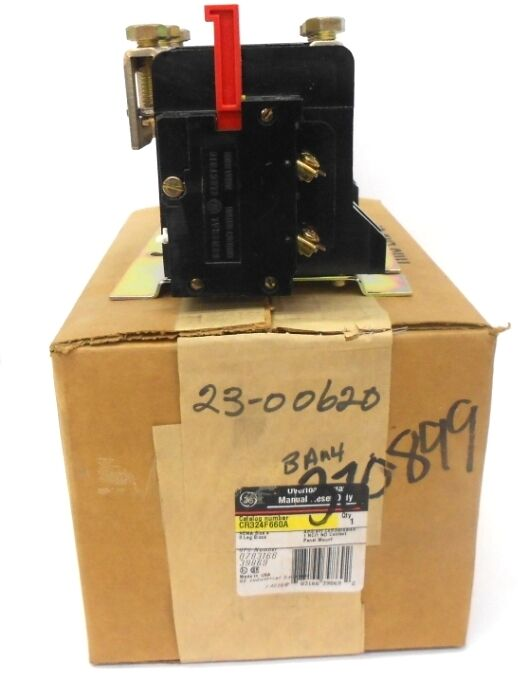 GENERAL ELECTRIC OVERLOAD RELAY CR324F660A, 3 LEG BLOCK